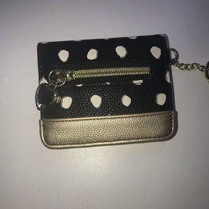 Betsey Johnson keychain wallet